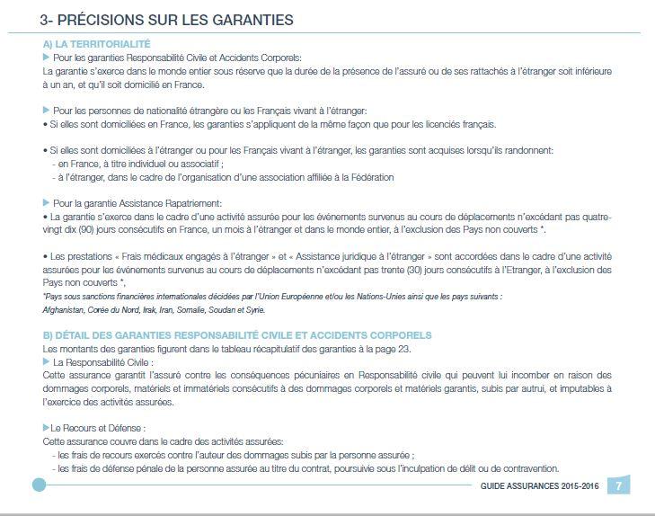 Précisions garanties - 1