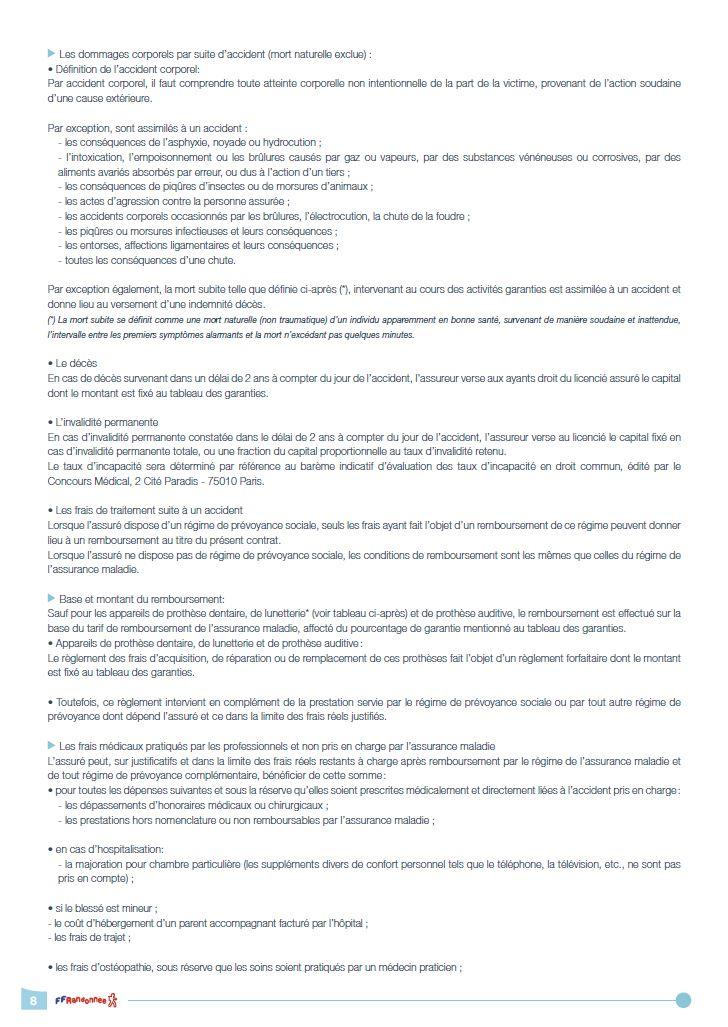 Précisions garanties - 2