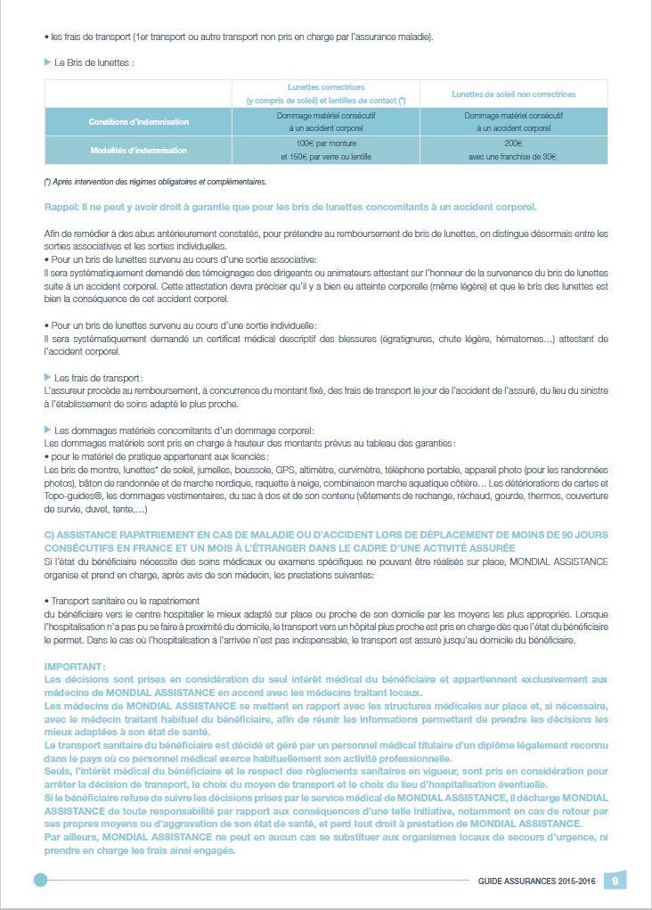 Précisions garanties - 3